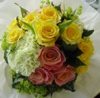 Olympic Style Handtied Bouquet